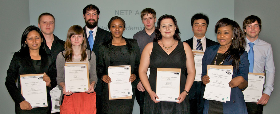 NETP 2nd Year Award Winners 2011